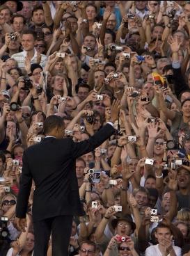Obama rettet die Welt ... oder zumindest Berlin. (Foto barackobama.com)